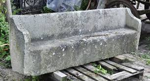 antique stone garden bench garden