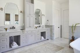 double sinks in the bathroom