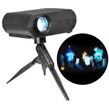 Cinemotion Halloween Movies Light Projection Stake With Sound Cinemotion Halloween Movies Light Projection Stake With