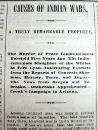 newspaper long essay by white man causes of the native image is loading 1873 newspaper long essay by white man causes
