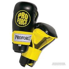 Proforce Sparring Gear Size Chart Proforce Semi Contact Glove Black Yellow