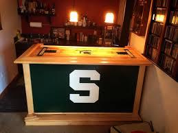 michigan state portable bar tailgate bar