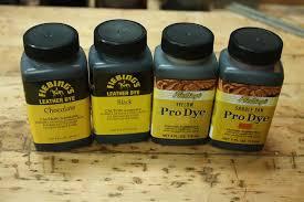 fiebings dye stain and wood