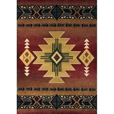 wayfair outdoor rugs area south western rug auburn crimson southwestern runners 5x7 10x13 indoo