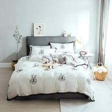 bedclothes princess style wedding luxury king bedding set embroidered kids cute cartoon rabbit fringe lace duvet