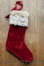 red velvet christmas stockings. Perfect Red Red Velvet Christmas Stocking With Fur Cuffs  Large 45cm Long 1995 With Stockings E