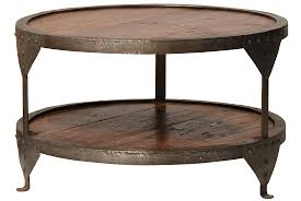 Industrial Round Coffee Table Round Coffee Table Wood And Glass Round Coffee Table Industrial