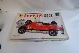 The ferrari 126c was the car which ferrari raced in the 1981 formula one season. Protar 1 12 Ferrari 126c2 1982 Protar Kit Catawiki