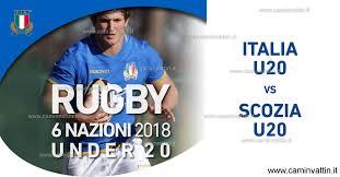 Italia vs Scozia - Rugby 6 Nazioni U20 - Camin Vattin