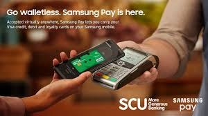 add your scu card to samsung pay
