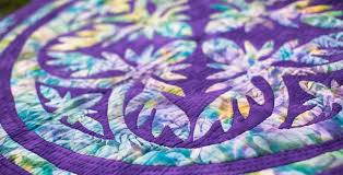 Pacific Rim Quilt Company | Hawaiian Applique Quilt Patterns ... & QUILTING LESSONS Adamdwight.com