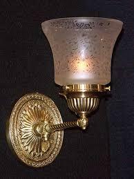 home antique lighting sconces anli086 1890 s antique gas sconce
