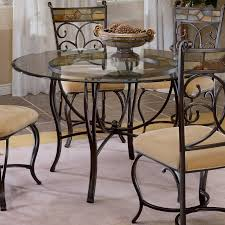 hilale pompei 5 piece dining set with glass top castered chairs black gold slate mosaic hayneedle