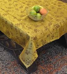 gold cotton 39x39 inches 4 seater