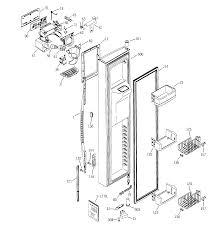 Ge profile refrigerator parts diagram manual arctica within
