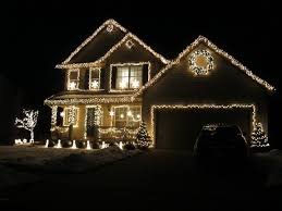 How To Install Outdoor Christmas Lights On House Christmas Lights Outdoor Light Amazing Christmas Lights On