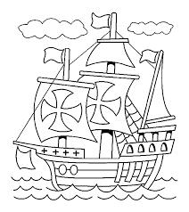 Voc Boot Kleurplaat Boot Kleurplatenlcom