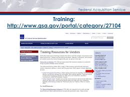 30 federal acquisition service training gsa gov portal 27104 gsa gov portal 27104