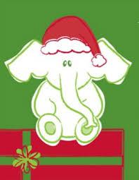 white elephant gift clip art. Modren Elephant Christmas On White Elephant Gift Clip Art
