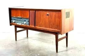 vintage stereo cabinet antique lovely plans outdoor turntable