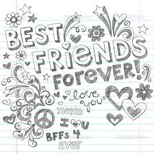 Small Picture Best Friends Forever Coloring Pages Coloring Pages Pictures