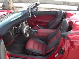 c6 corvette gm oem ebony cobalt two tone seats covers