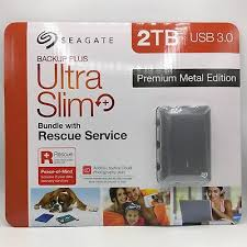Some seagate drives have a nasty habbit on installing proprietary software that basically locks the drive to a specific pc. Seagate Backup Plus Ultra Slim 2tb Usb 3 0 Premium Metal Edition Rescue Service 763649093498 Ebay