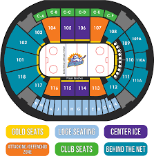 Download Amway Center Seating Map For Orlando Solar Bears