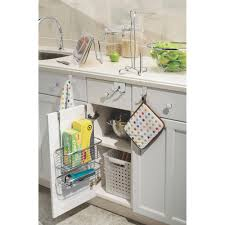 Over The Cabinet Basket Interdesign Axis Over The Cabinet X3 Basket Walmartcom