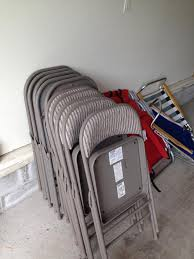 folding chair storage hooks. 10 folding chairs taking up too much space in garage. chair storage hooks h