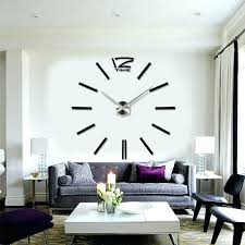 huge wall clock intricate clocks remarkable decoration luxurious big for hotels restaurants conference modern