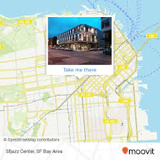 How To Get To Sfjazz Center In Downton Civic Center Sf By