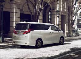 2018 Toyota Alphard (facelift) rear three quarters right side ...