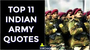 Top 11 Indian Army Quotes Goosebumps Guaranteed