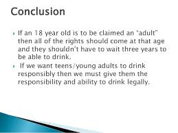 Age The Lowering The Drinking Lowering Age Age Lowering Drinking The Drinking