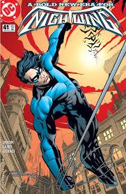 DC Histories: Dick Grayson (Robin I / Nightwing II / Batman III)