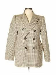 Details About Balenciaga Women Brown Wool Blazer 40 Eur