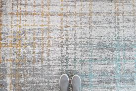 aspire grey orange abstract pattern rug the rug