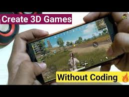 create android game without coding