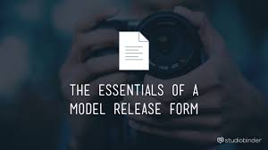 The Best Free Model Release Form Template For Photography