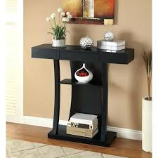 black console table with drawers konectme