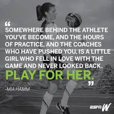 Inspirational Soccer Quotes Impressive A Library Of Inspirational Art To Help You Celebrate National Girls