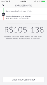 Uber Quote Interesting My Experience Using Uber To Get From Sao Paulo To Guarulhos