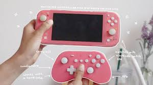 matching controller for the nintendo switch lite ft. <b>GuliKit Elves</b> Pro ...