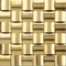 decorative wall tiles. 11pcs Gold Metal Mosaic Tile Kitchen Backsplash Bathroom Background Decorative Wall Fireplace Bar Tiles G