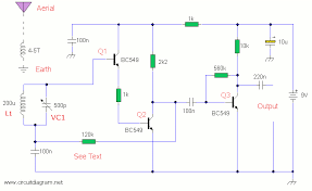 am radio receiver schematic design
