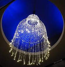 chandelier fiber optic light
