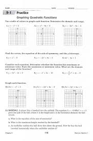 practice worksheet graphing quadratic functions in standard form answers our new free graphs free for commercial or non commercial