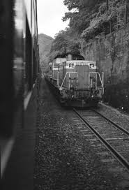 1987年56月 山陰線保津峡駅 カジやんの撮り鉄日記