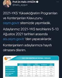 Akıllı Tercih - 2021-YKS TERCİH DÖNEMİ 5-13 AĞUSTOS #yks...